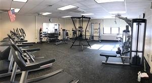 The community weight room  is open!